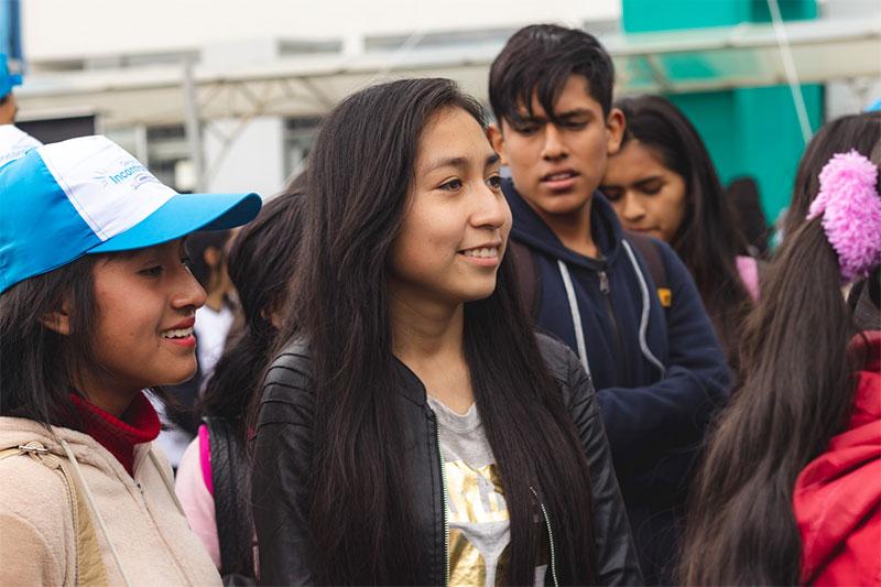 Presencial: Bienvenida Huancayo